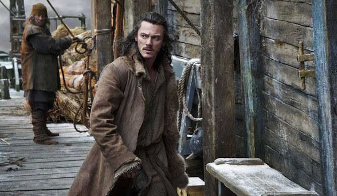 Luke Evans as The Hobbit workout
